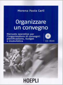 "Libro ""Organizzare un convegno"""