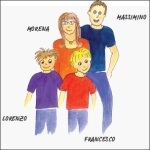 Massimino e la sua famiglia
