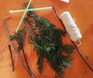 Materiale per realizzare pennelli naturali